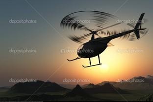 гражданский вертолет