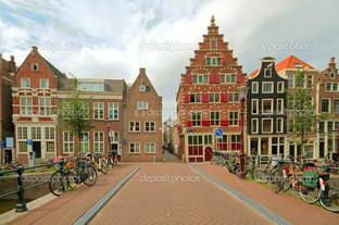 живописный город Амстердам