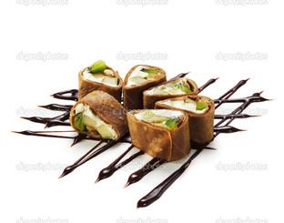 шоколад суши роллы
