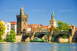 улицы старого города в Праге