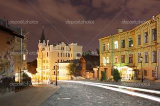 ночь улица Киев
