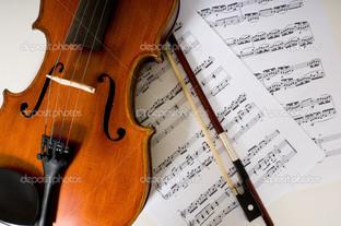 скрипка ноты