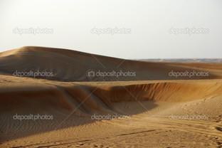 холмы песка