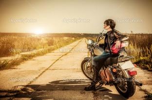 дорога и девушка