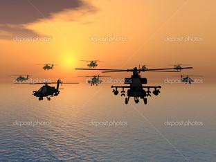 Апачи вертолеты
