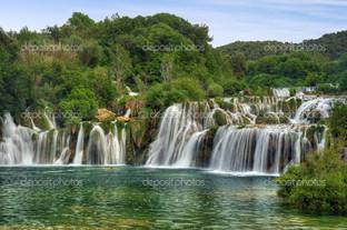 водопады в Крка Национальный парк