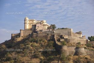 замок в Индии