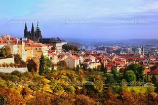 Прага панорама