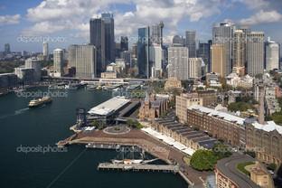 панорама вид Сидней