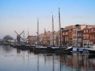 зима в Амстердам