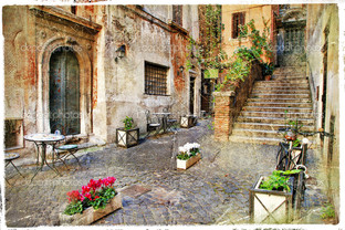 старая Италия улицы
