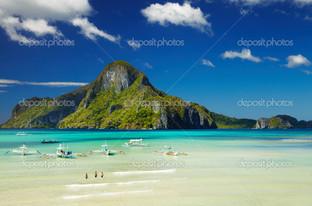 гора Эль-Нидо бей Филиппины