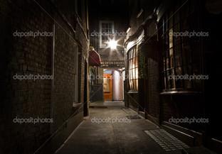 Лондон переулок