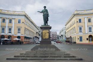 памятник Дюк де Ришелье