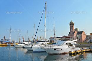 яхты причал в Одессе