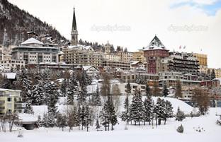 Санкт-Мориц в Швейцарии