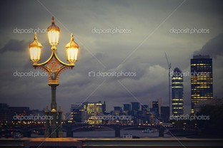 вечер Лондон