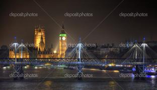 Лондон по ночам