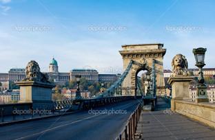 цепной мост через Дунай