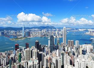 красивый вид на город