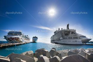 круизные корабли порт
