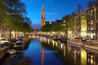 западная церковь в Амстердам