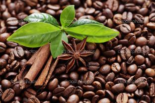 кофе корица базилик