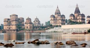 храм в Орчха Индия