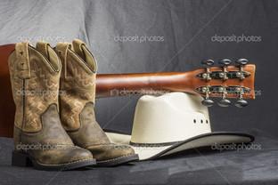 гитара сапоги и шляпа