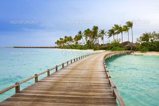острова в океане Мальдивы