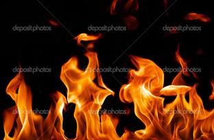 панорама огня