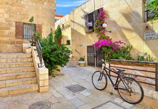 на улице в Иерусалиме