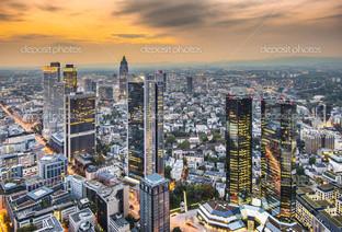 Франкфурт городской пейзаж