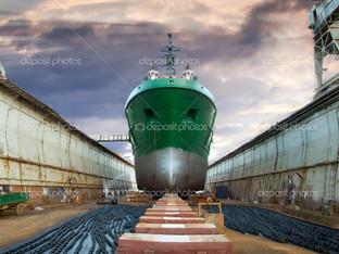корабль док