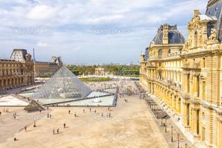 в Лувр музей Париж Франция
