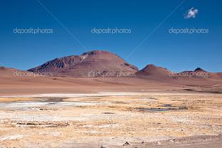 пустынный ланшафт