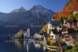вид города Австрия
