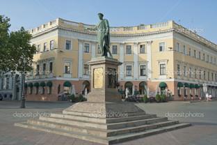 памятник Дюк де Ришелье в Одессе