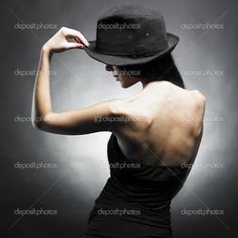 танцы спина девушка