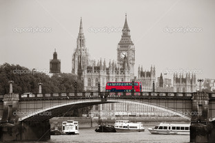 вид на лондонский мост
