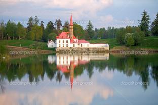 пейзаж Приоратский дворец