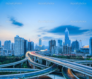 шоссе пересечение дорог