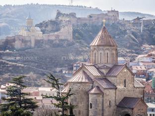 Метехи церковь в Тбилиси