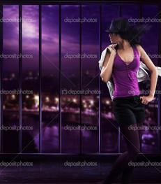 танцы девушка шоу
