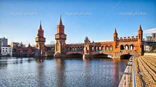 мост в Белине Германия