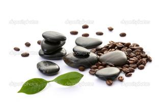 кофе камни спа