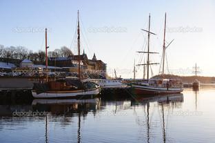 рассвет над Осло
