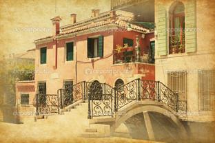 старый мост Венеция Италия