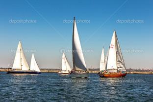 Одесса парусники в море