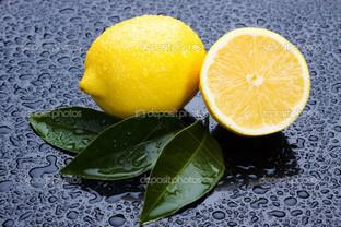лимоны вода